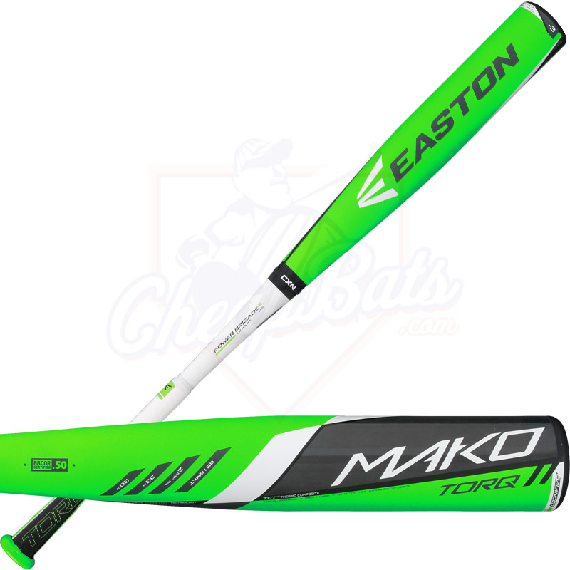 2016 Easton MAKO TORQ BBCOR Baseball Bat -3oz BB16MKT