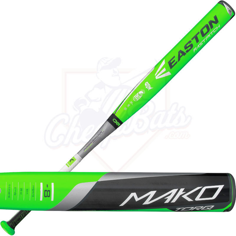 2016 Easton MAKO TORQ Fastpitch Softball Bat End Loaded -8oz FP16MKT8