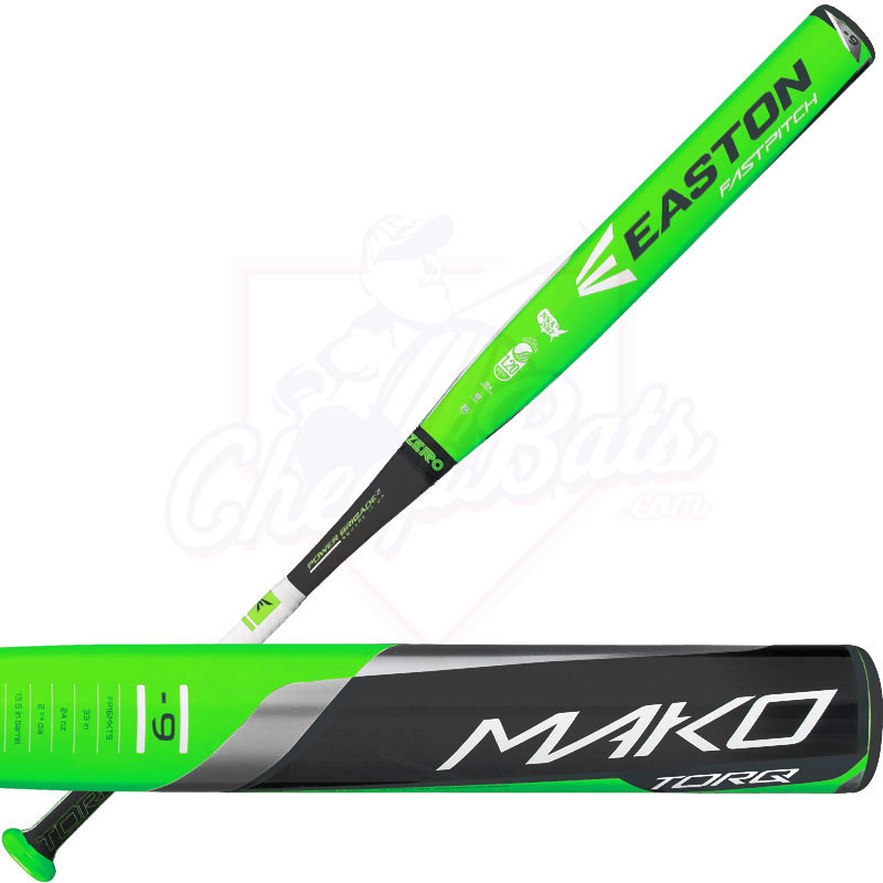 2016 Easton MAKO TORQ Fastpitch Softball Bat End Loaded -9oz FP16MKT9