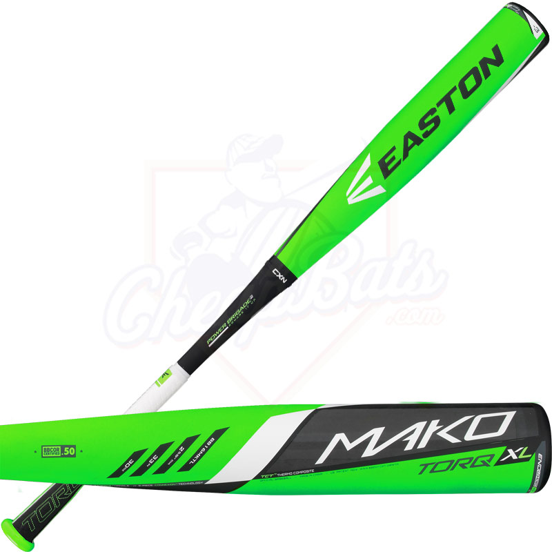 2016 Easton MAKO TORQ XL BBCOR Baseball Bat -3oz BB16MKTL