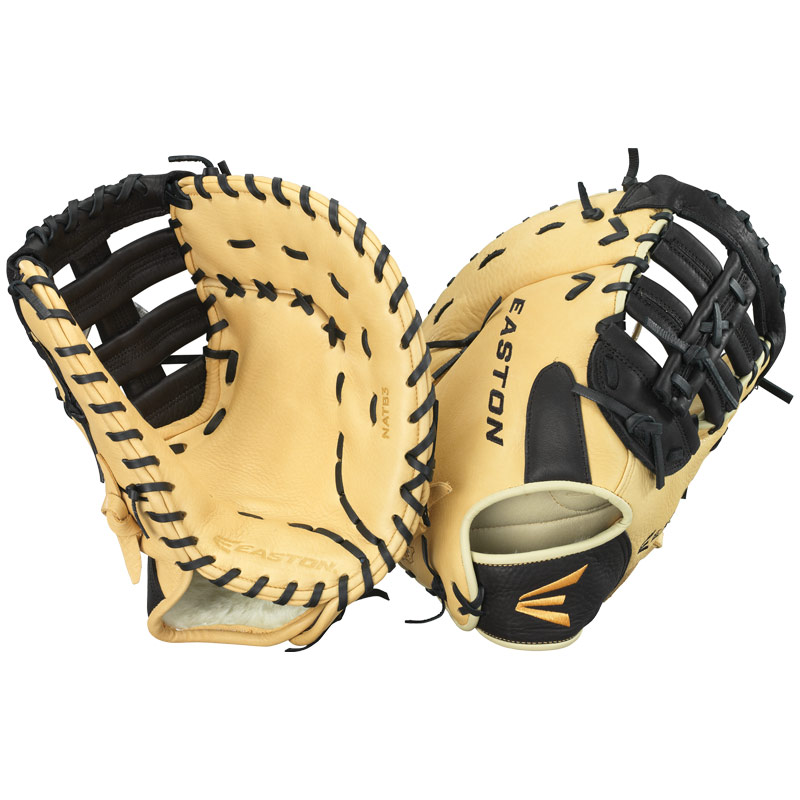 Easton NATB 3 Natural Elite Series First Base Mitt 12.75""