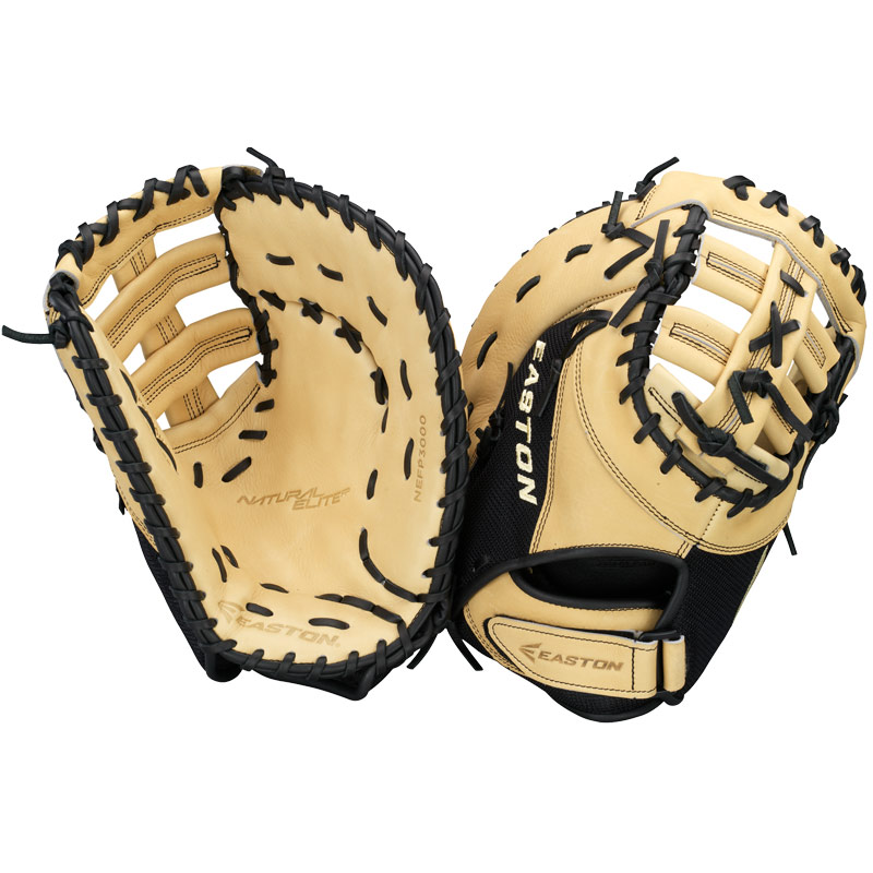 "Easton Natural Elite Fastpitch First Base Mitt 13"" NEFP 3000 A130420"