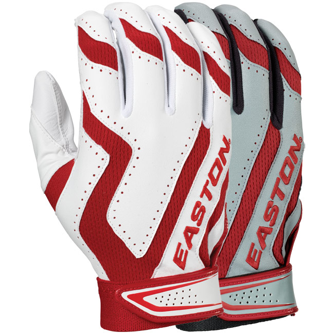 Easton Home and Road Batting Gloves (Adult 2-Pair) A121537