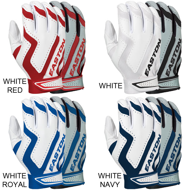 Easton Rival Home and Road Batting Gloves (Adult 2-Pair) A121537