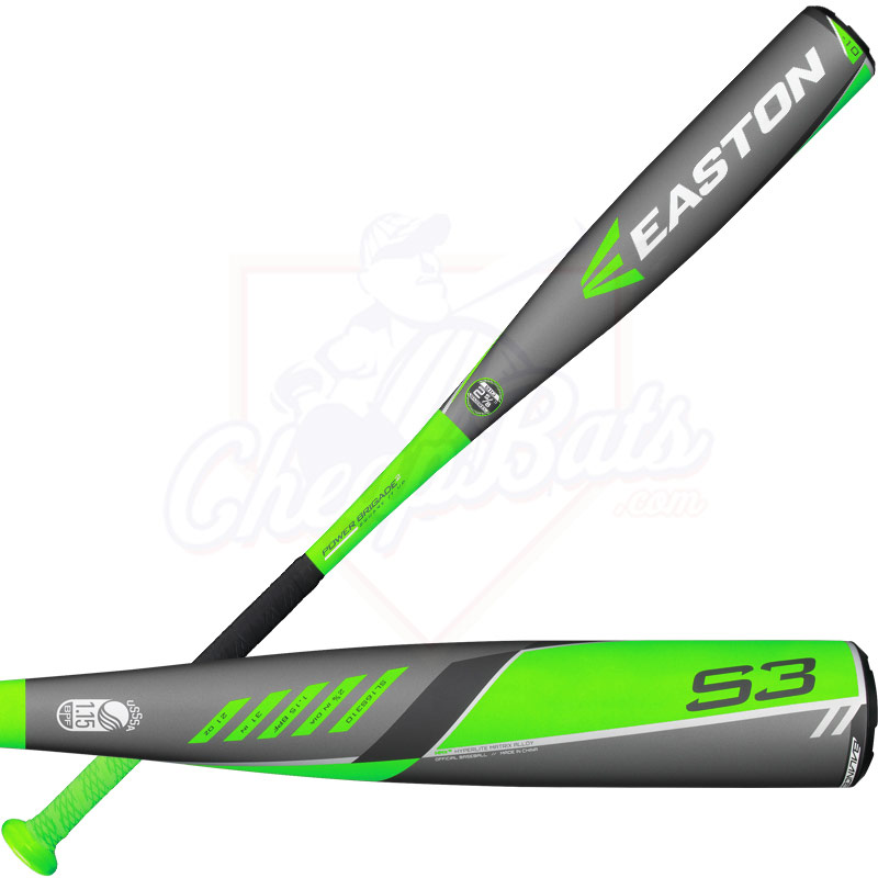 2016 Easton S3 Youth Big Barrel Baseball Bat -10oz SL16S310