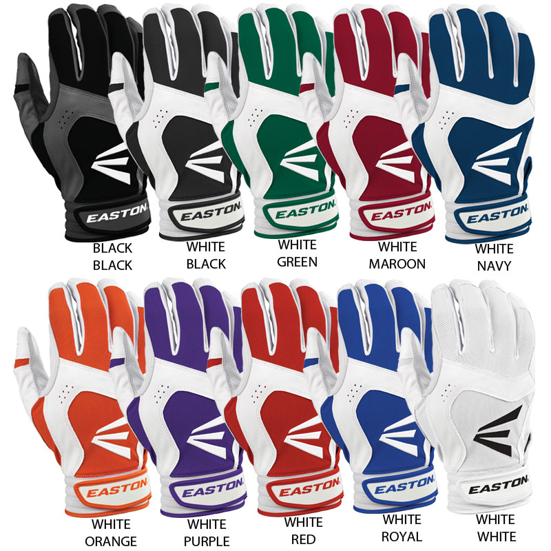 Easton STEALTH CORE Batting Gloves (Adult Pair)