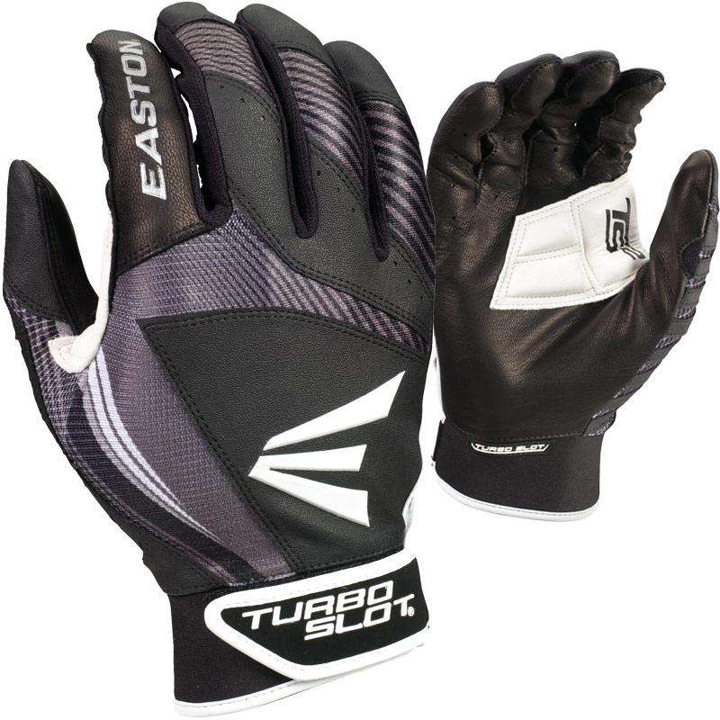 Easton TURBOSLOT III Batting Gloves (Adult Pair)