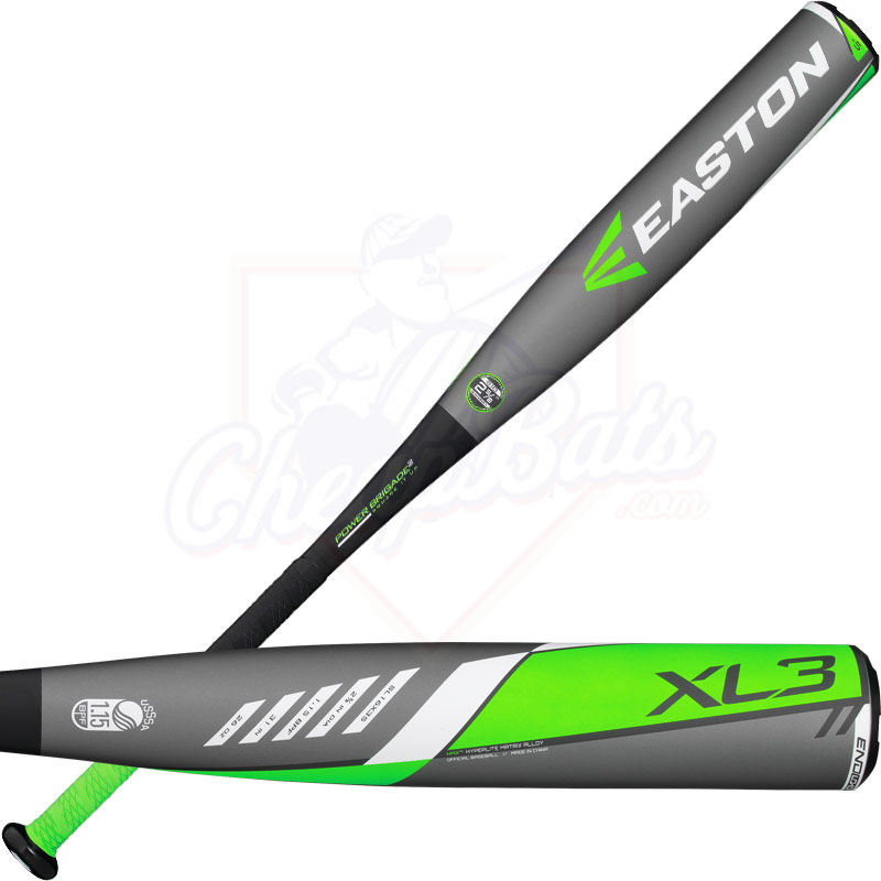 2016 Easton XL3 Youth Big Barrel Baseball Bat -5oz SL16X35