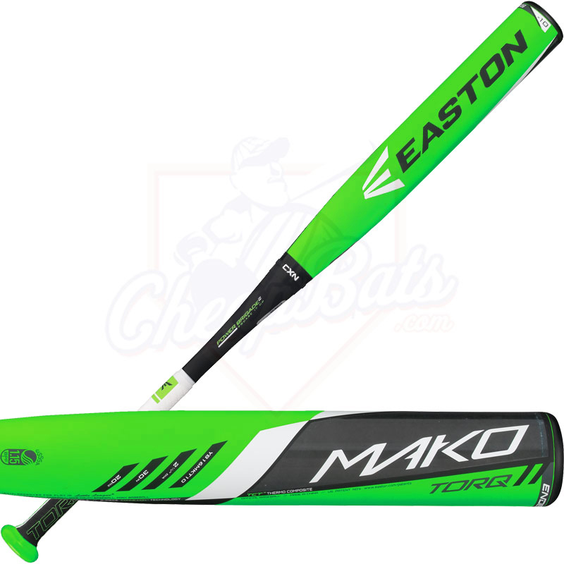 2016 Easton MAKO TORQ Youth Baseball Bat -10oz YB16MKT10