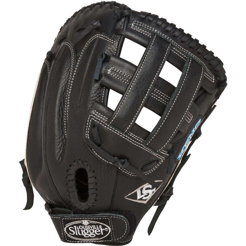 "Louisville Slugger Xeno Fastpitch First Base Mitt 13"" FGXN14-BKFBM"