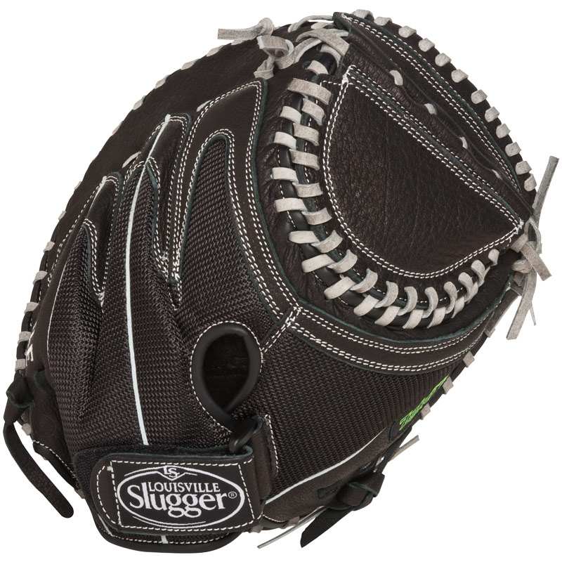 "Louisville Slugger Zephyr Fastpitch Catchers Mitt 32.5"" FGZR14-BKCM1"