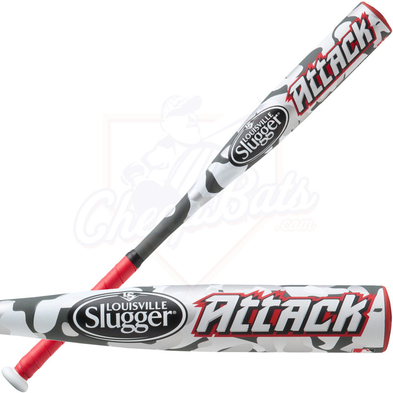2014 Louisville Slugger Attack Tee Ball Bat -13.5oz TBAT14-RR