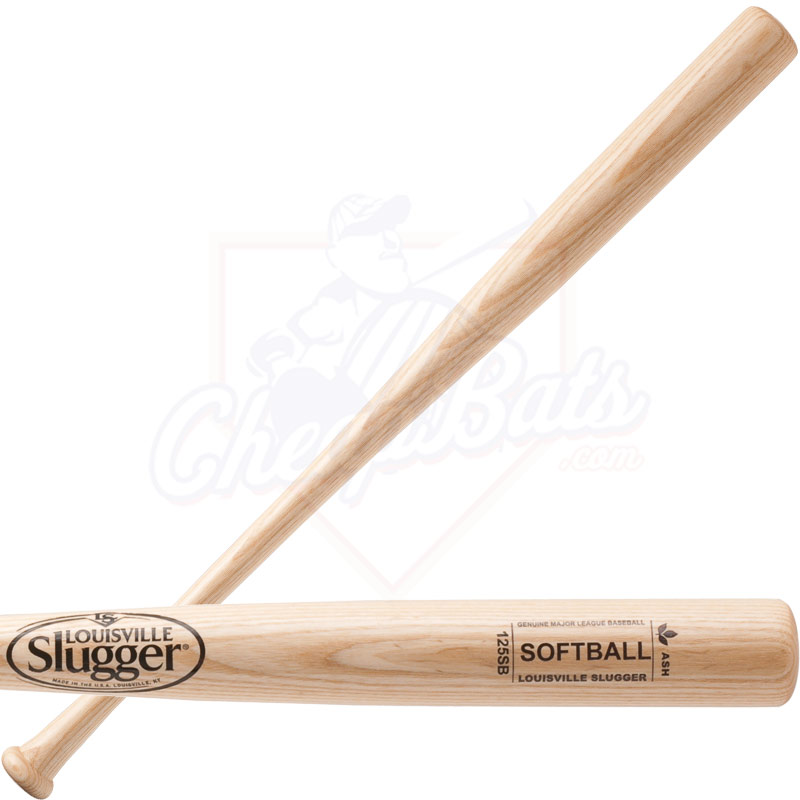 Louisville Slugger 125 Ash Slowpitch Softball Bat WBA114-SBCNA