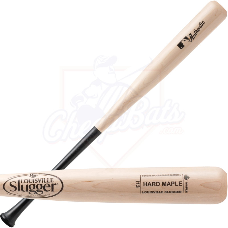 Louisville Slugger Hard Maple Wood Baseball Bat WBHM14-13CBN
