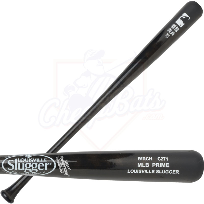 Louisville Slugger MLB Prime Birch C271 Wood Baseball Bat WBVB271-BD