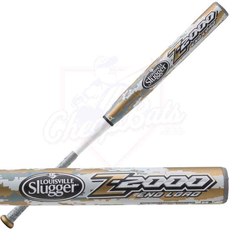 2015 Louisville Slugger Z2000 Slowpitch Softball Bat ASA End Load SBZ215A-E