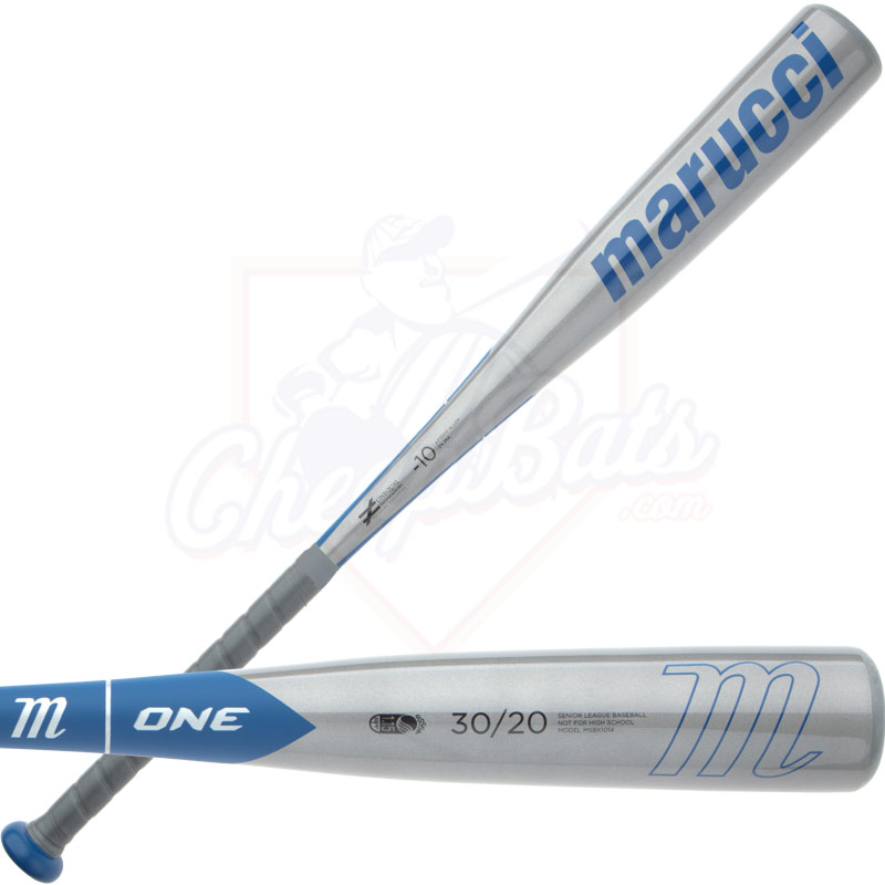 2014 Marucci One Senior Big Barrel Baseball Bat Blue MSBX1014 -10oz