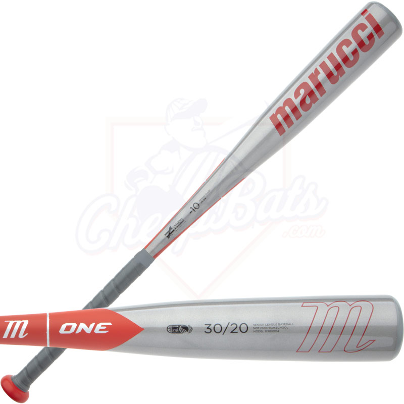 2014 Marucci One Senior Big Barrel Baseball Bat Red MSBX1014 -10oz