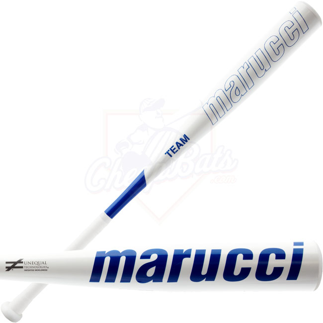 Marucci Team BBCOR Blue Baseball Bat -3oz. MCBTC-B