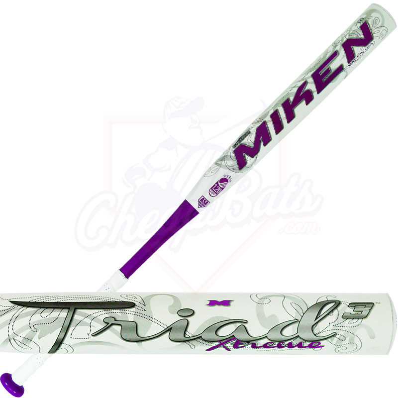 2014 Miken TRIAD 3 XTREME Fastpitch Softball Bat -10oz FPTR10