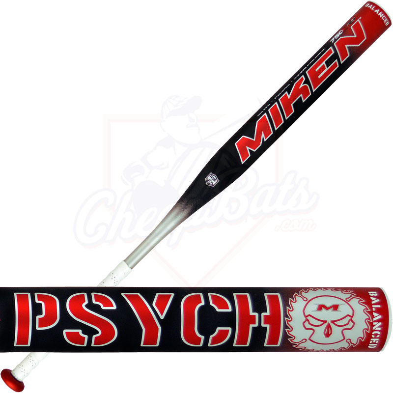 2015 Miken PSYCHO BALANCED Softball Bat - ASA Slowpitch SPSYBA