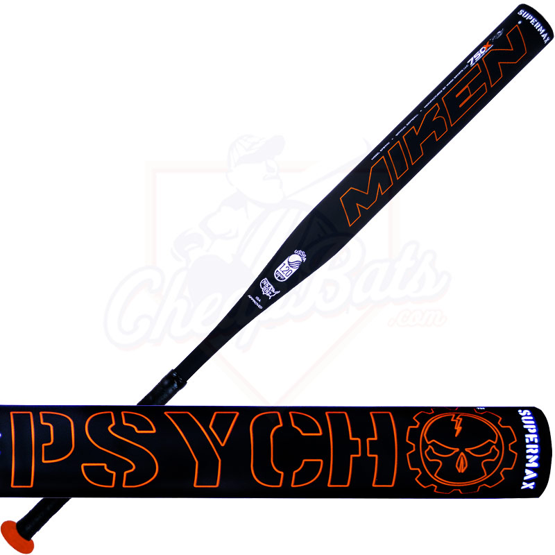 2014 Miken IZZY PSYCHO SUPERMAX Slowpitch Softball Bat SPSYMU
