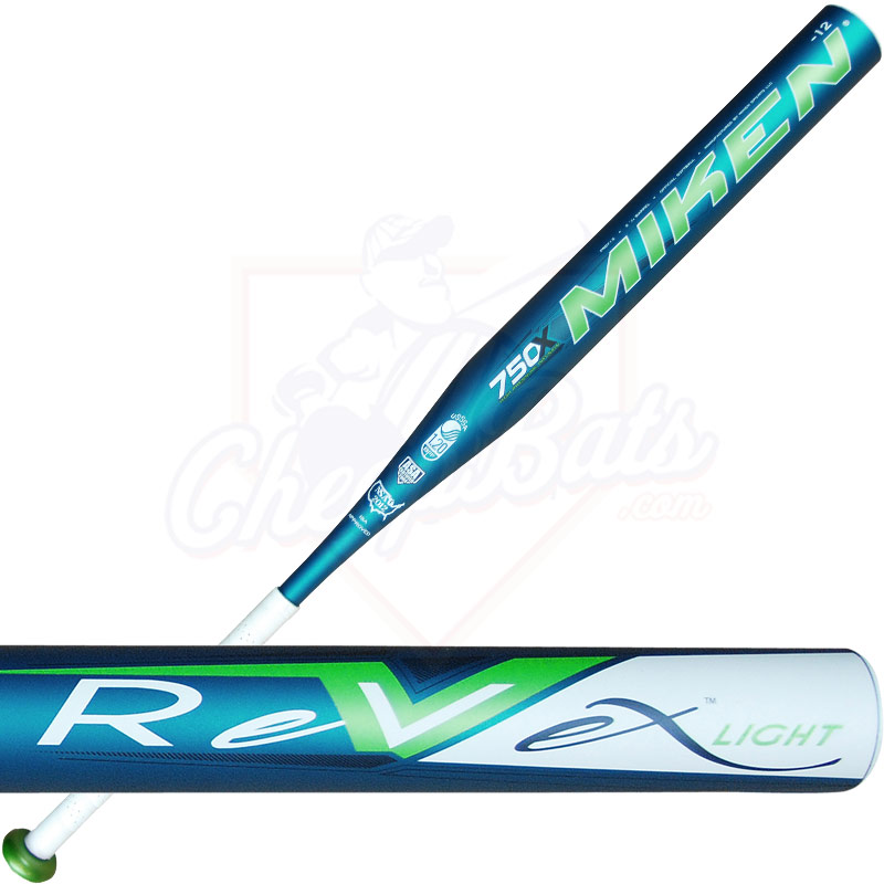 2013 Miken REV-EX Light Fastpitch Softball Bat -12oz. FREV12