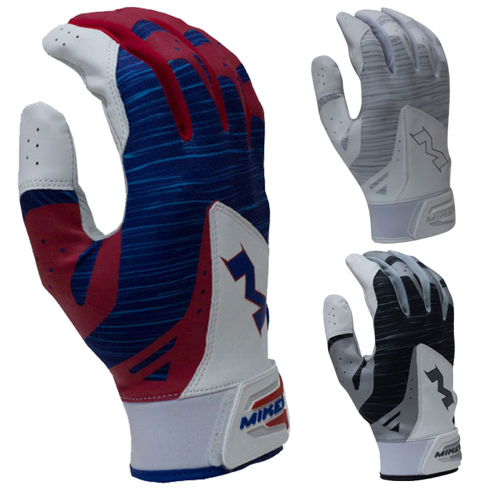Miken Pro Batting Gloves Adult Pair Mbgl18