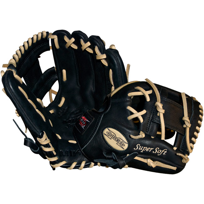 "Miken Super Soft Baseball Glove 11.5"" MS115BB"