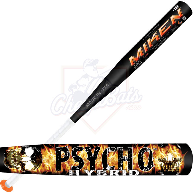 Miken Psycho Hybrid Youth Baseball Bat -12oz. YBPS12