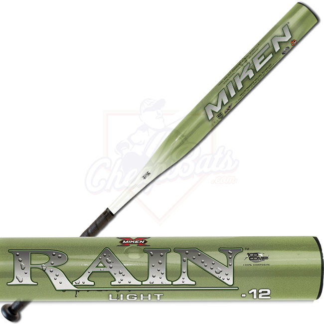 Miken Rain Light Fastpitch Softball Bat MFRL12