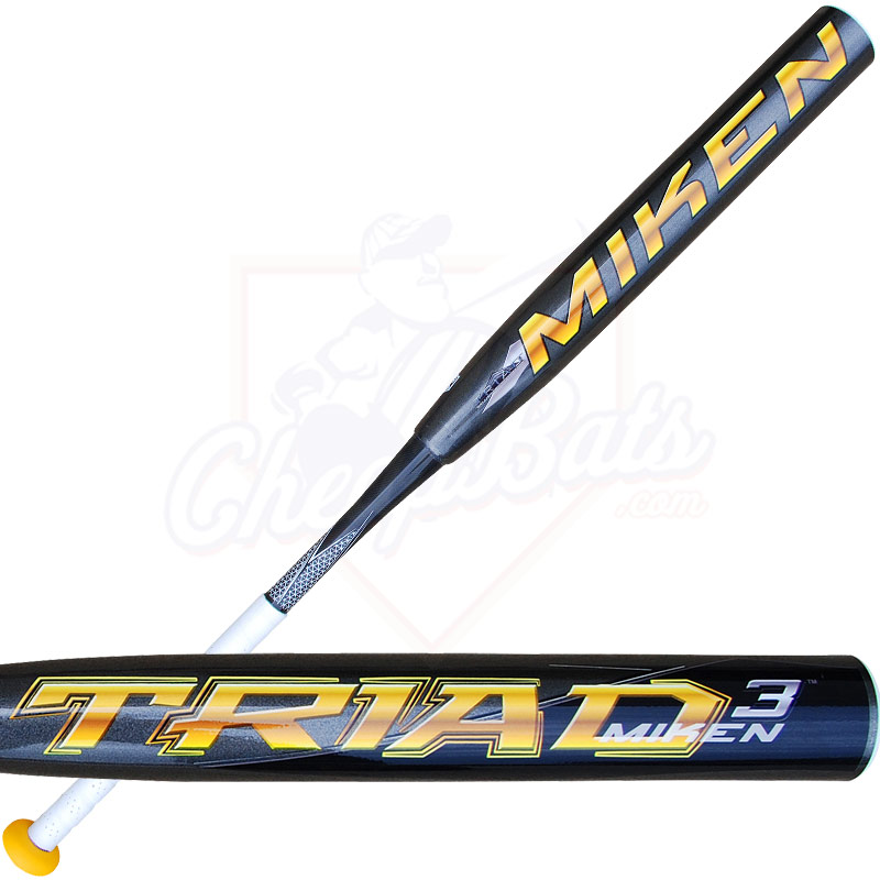 2013 Miken TRIAD 3 Maxload ASA Slowpitch Softball Bat STRIMA