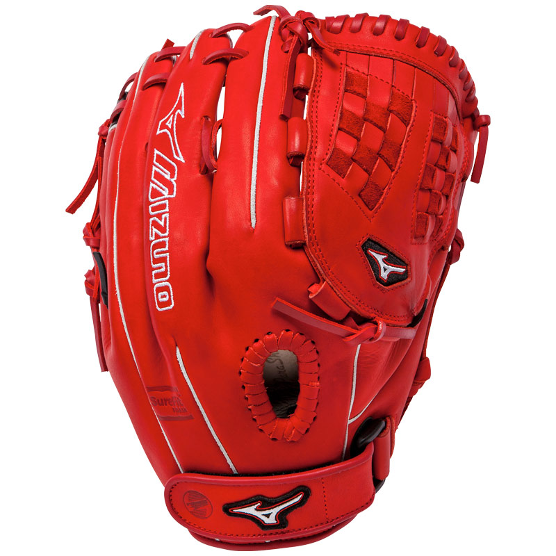 "Mizuno MVP Prime SE Fastpitch Softball Glove 12.5"" Red/Black GMVP1250PSEF1"