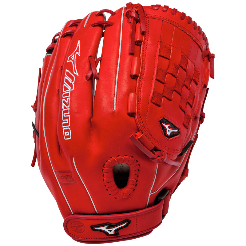 "Mizuno MVP Prime SE Fastpitch Softball Glove 13"" Red/Black GMVP1300PSEF1"
