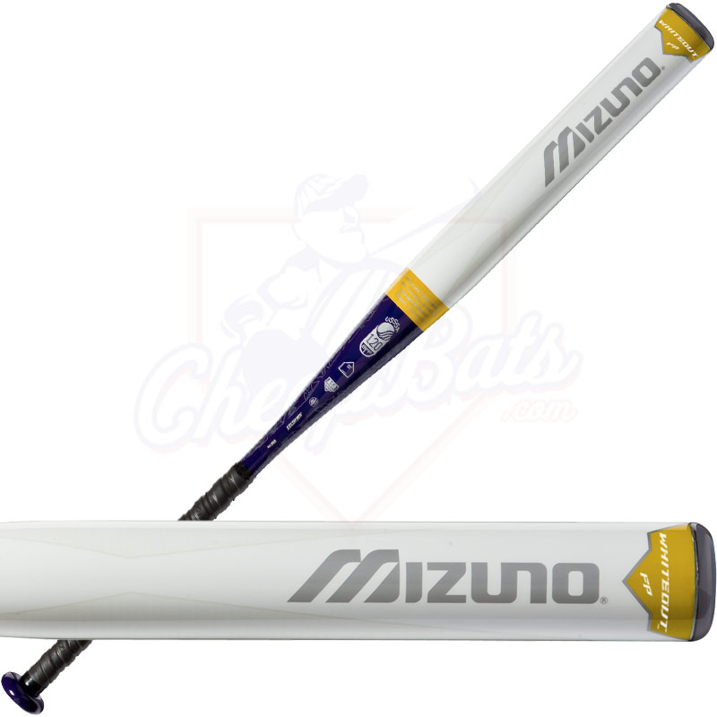 CLOSEOUT Mizuno Whiteout Fastpitch Softball Bat -9oz 340273