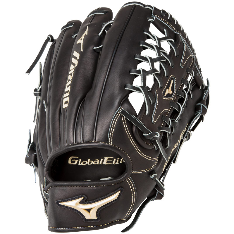 "Mizuno Global Elite VOP Baseball Glove 12.75"" GGE71VAXOBK"