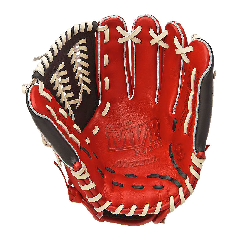 "CLOSEOUT Mizuno MVP Prime SE Series Baseball Glove 11.5"" Red/Black GMVP1154PSE 311776-RDBK"