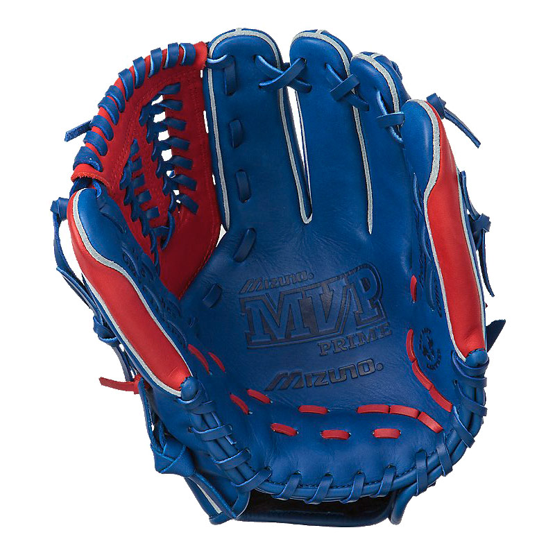 "Mizuno MVP Prime SE Series Baseball Glove 11.5"" Royal/Red GMVP1154PSE"