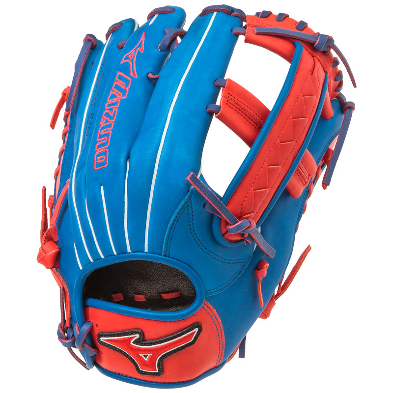 "Mizuno MVP PRIME SE Slowpitch Softball Glove 12.5"" Royal/Red GMVP1250PSES4"