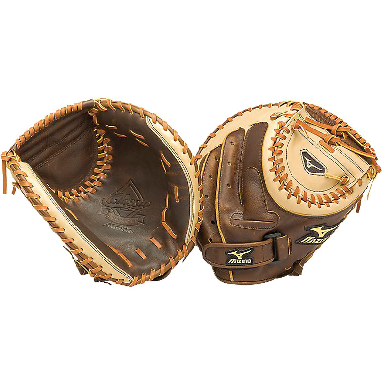 Mizuno Classic Fastpitch Series Softball Catcher's Mitt 34 ...