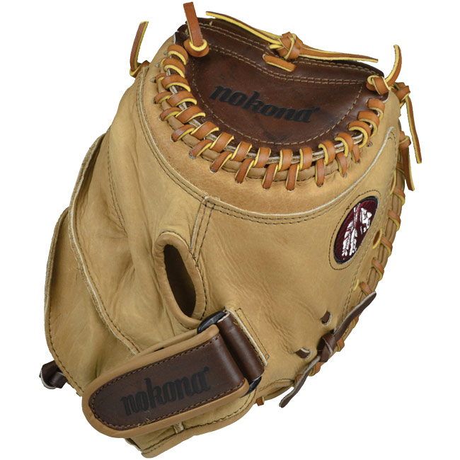 "Nokona Buffalo Combo Fastpitch Catchers Mitt 32.5"" BCF-3250C"