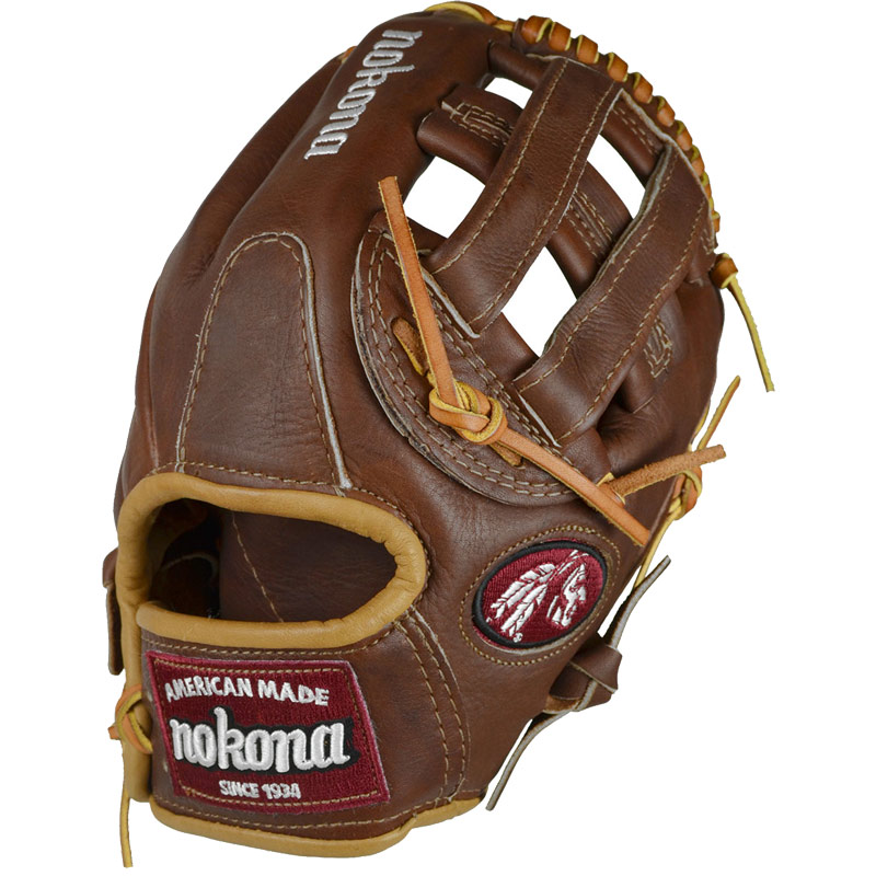 Nokona Walnut Baseball Glove WB-1175 11.75""