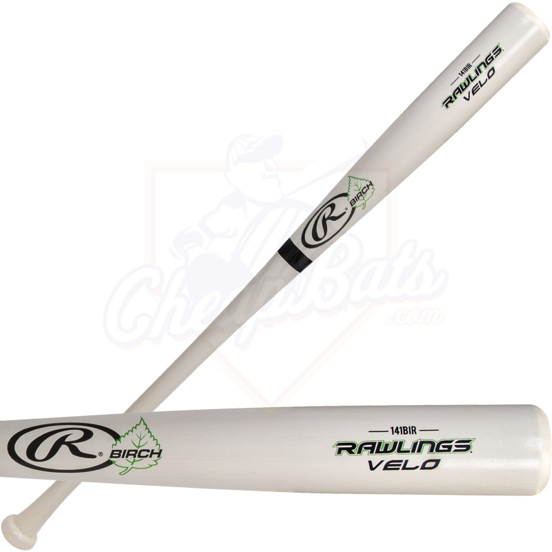 Rawlings Velo Birch Wood Baseball Bat 141BIR
