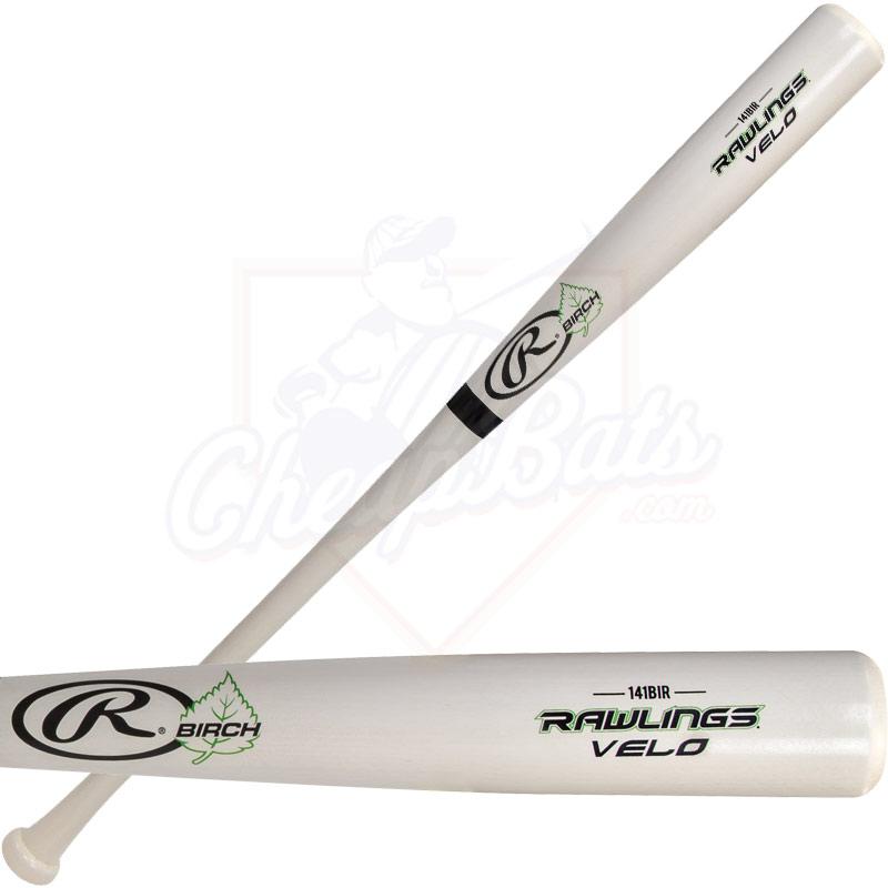 CLOSEOUT Rawlings Velo Birch Wood Baseball Bat 141BIR