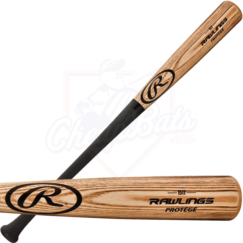 Rawlings Youth Protege Big Barrel Ash Wood Baseball Bat -5oz. 151T