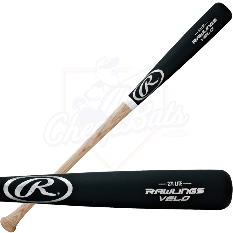 Rawlings Velo Ash Wood Baseball Bat -3oz. 271V
