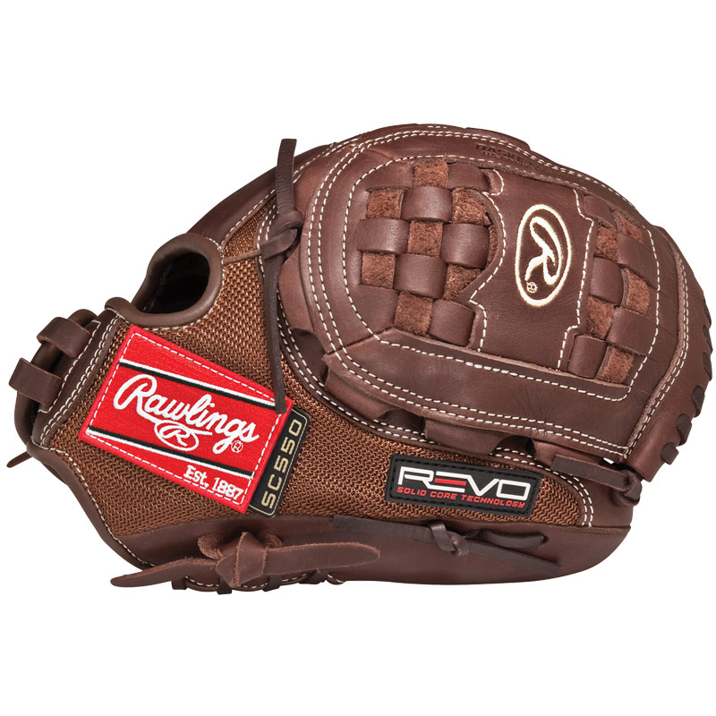"Rawlings REVO 550 Solid Core Fastpitch Softball Glove 12"" 5SC120MD"