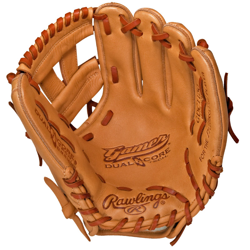 "Rawlings Gamer Dual Core Series Baseball Glove 11.5"" GDC1150"