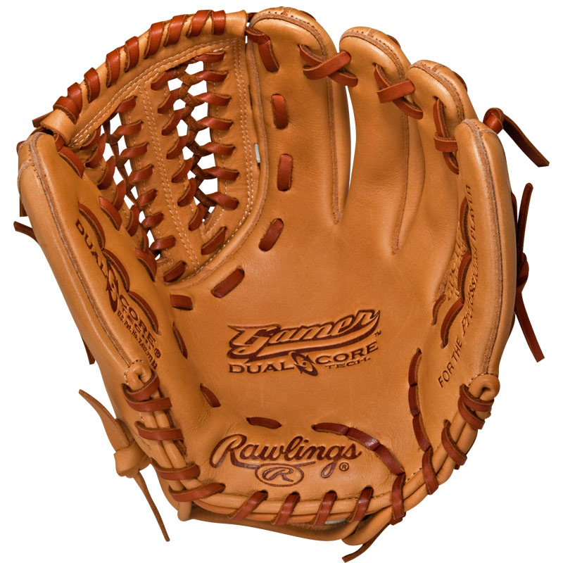 "CLOSEOUT Rawlings Gamer Dual Core Series Baseball Glove 11.75"" GDC1175"