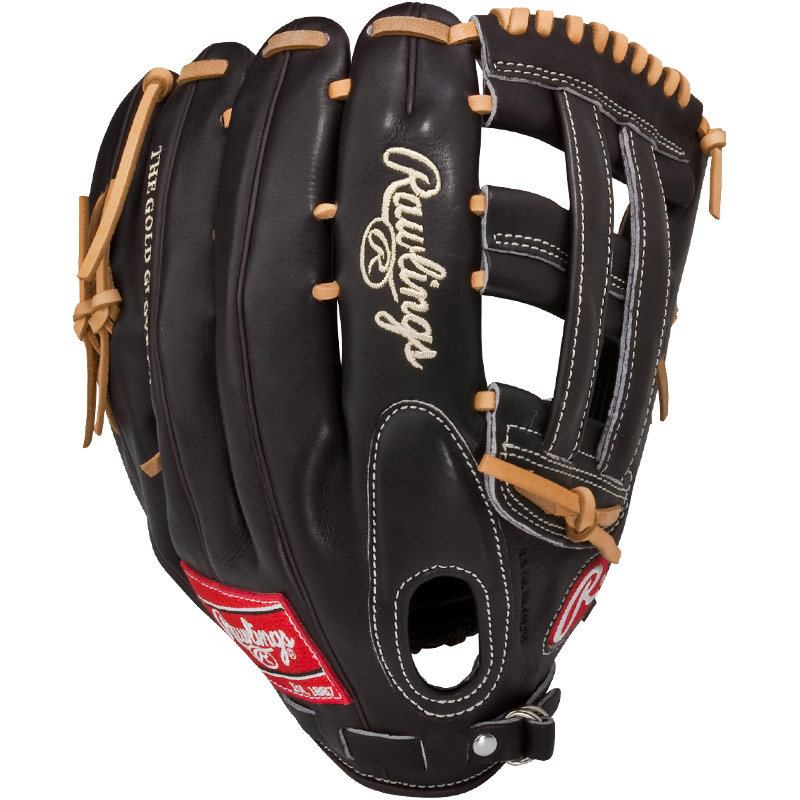 "Rawlings Mocha Pro Preferred Series Baseball Glove 12.75"" PROS27HFMO"